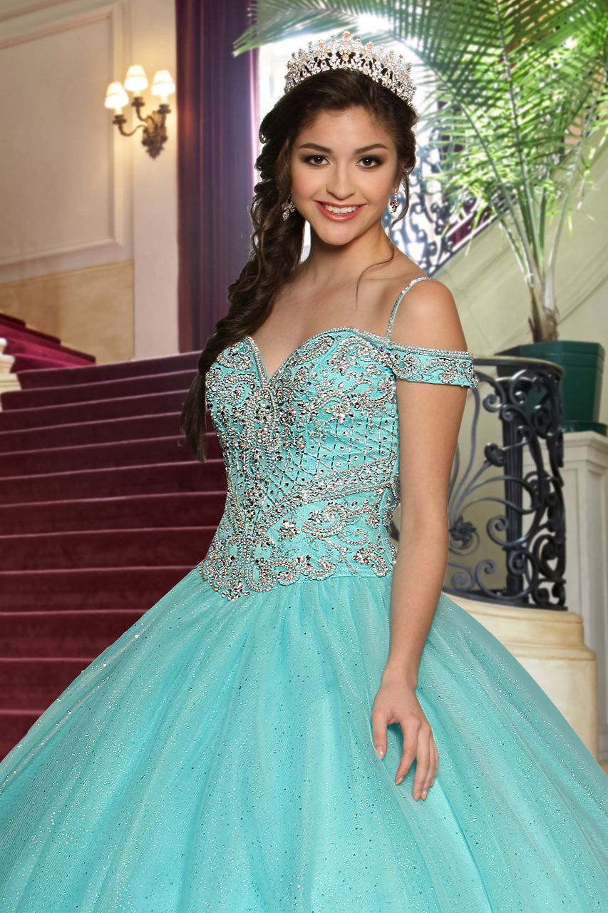 Quinceanera dress fancy and prom