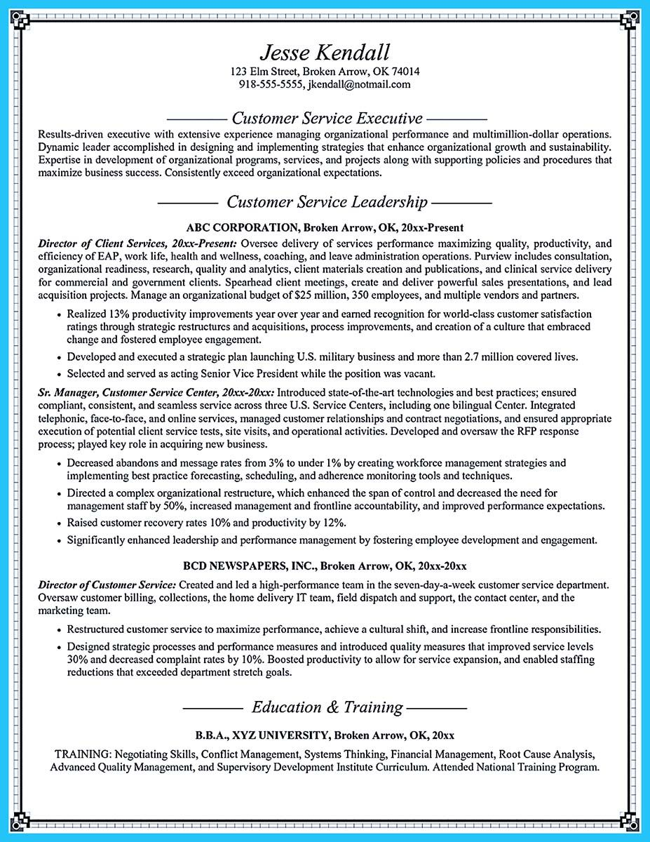 cool resume for customer service internship supervisor goals and cool resume for customer service internship supervisor goals and objectives examples manager sample cool well written csr resume get applied soon customer