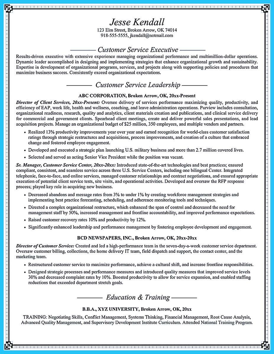 cool well written csr resume to get applied soon