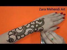 Beautiful Arabic Henna Design| #9 Zara Mehendi Art