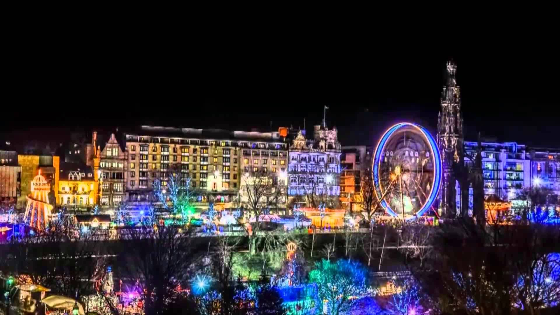 edinburghs christmas markets and events