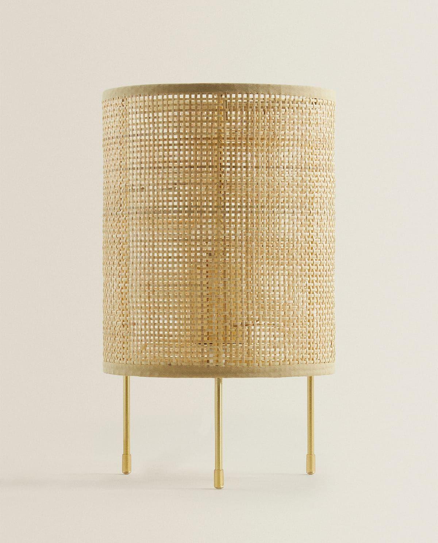 Bild 1 Des Produktes Lampe Aus Rattan In 2020 Rattan Lampe Zara Home Beleuchtung Wohnzimmer