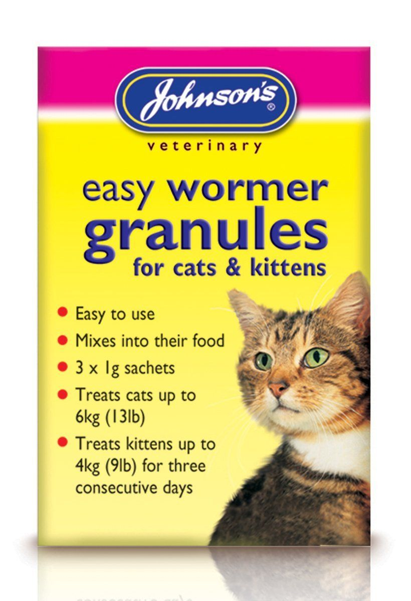 Johnsons Easy Wormer Granules For Cats And Kittens You Can Get Additional Details At The Image Link Cats And Kittens Cat Health Care Cat Health
