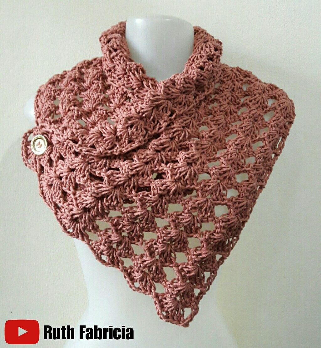 Pin von Magui auf Bufandas y cuellos tejidos | Pinterest