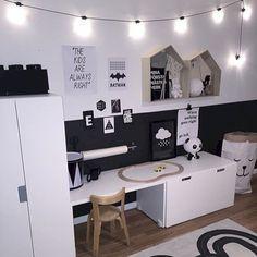 12 Inspiration Kids Bedroom Ideas #kidsbedroom monochrome kids bedroom, kid room… Çocuk Odası