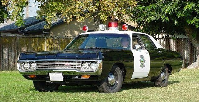 Dodge polara police car