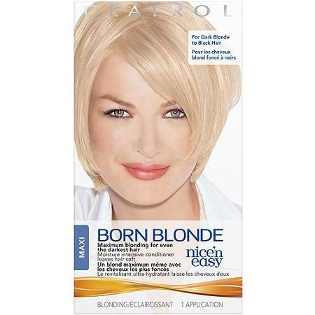 Clairol Nice N Easy Born Blonde Hair Color Ultra Blue Kit Walmart