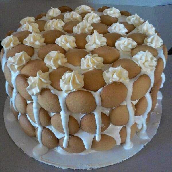 Ye Olde Journalist: Recipe: OMG Banana Pudding Cake