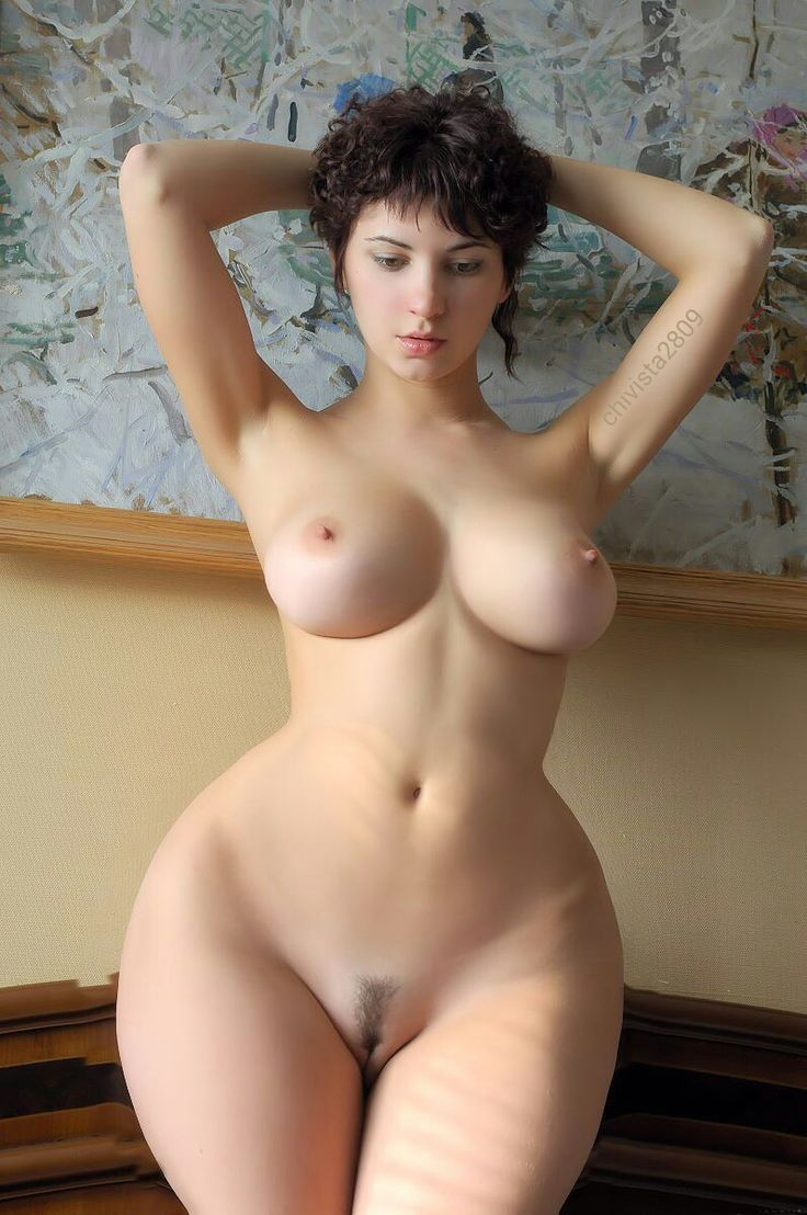 naked girl with the widest hips