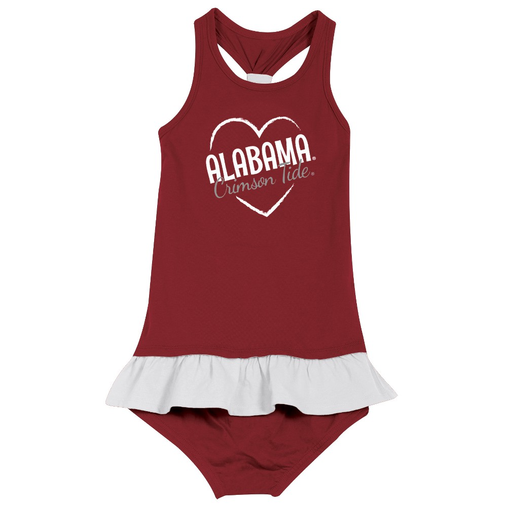 Outfit University of Alabama Two Piece Toddler Girls Long Sleeve 2pc
