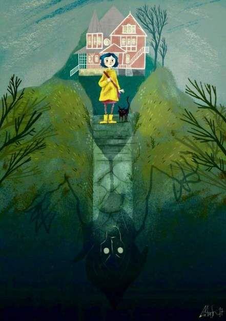 Secret Door Illustration 57 Ideas For 2019 In 2020 Coraline Art Coraline Coraline Aesthetic