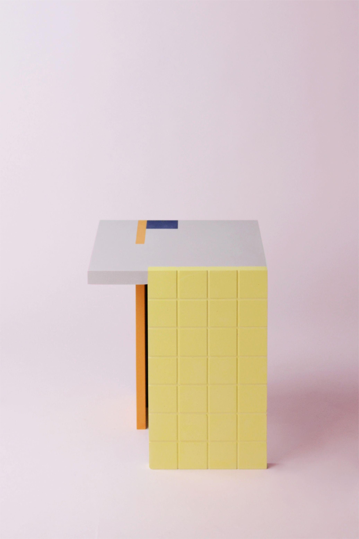Acrylic Cube Table