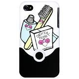 Toothbrush Toothpaste Floss iPhone Case