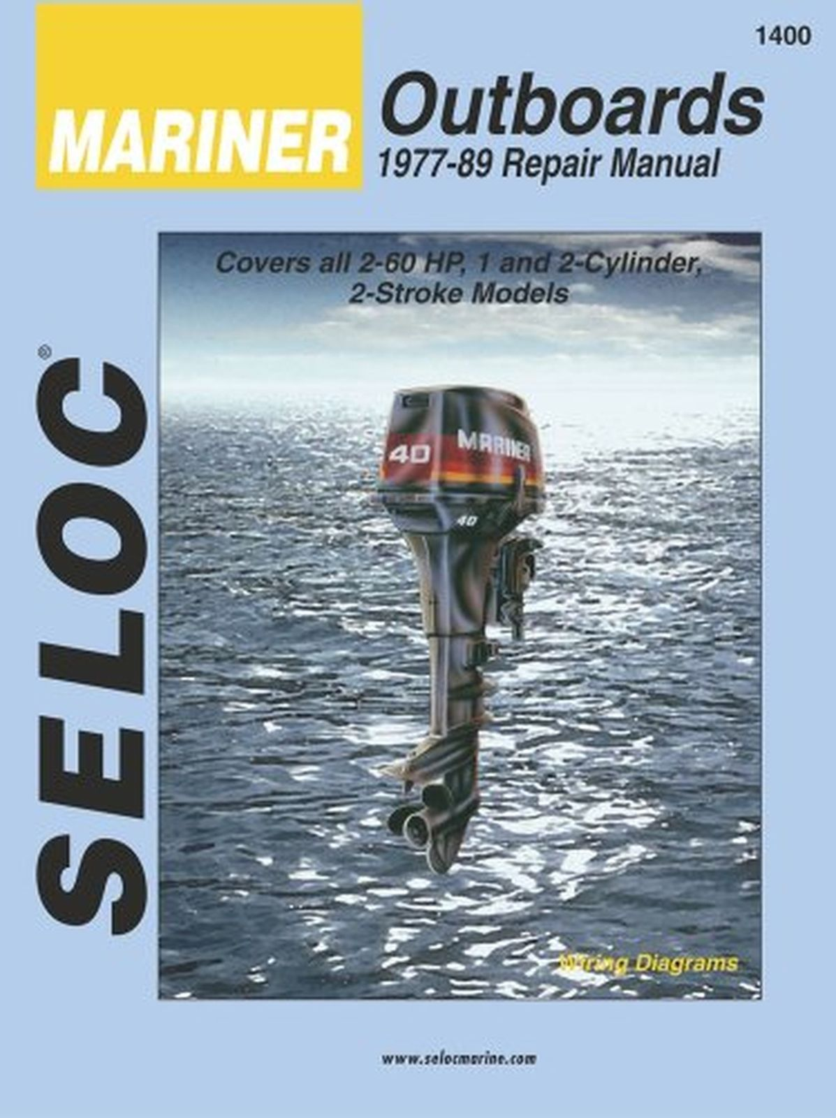 Seloc Repair Manual Mercury Outboard 1965-1991 1 & 2 Cy | eBay