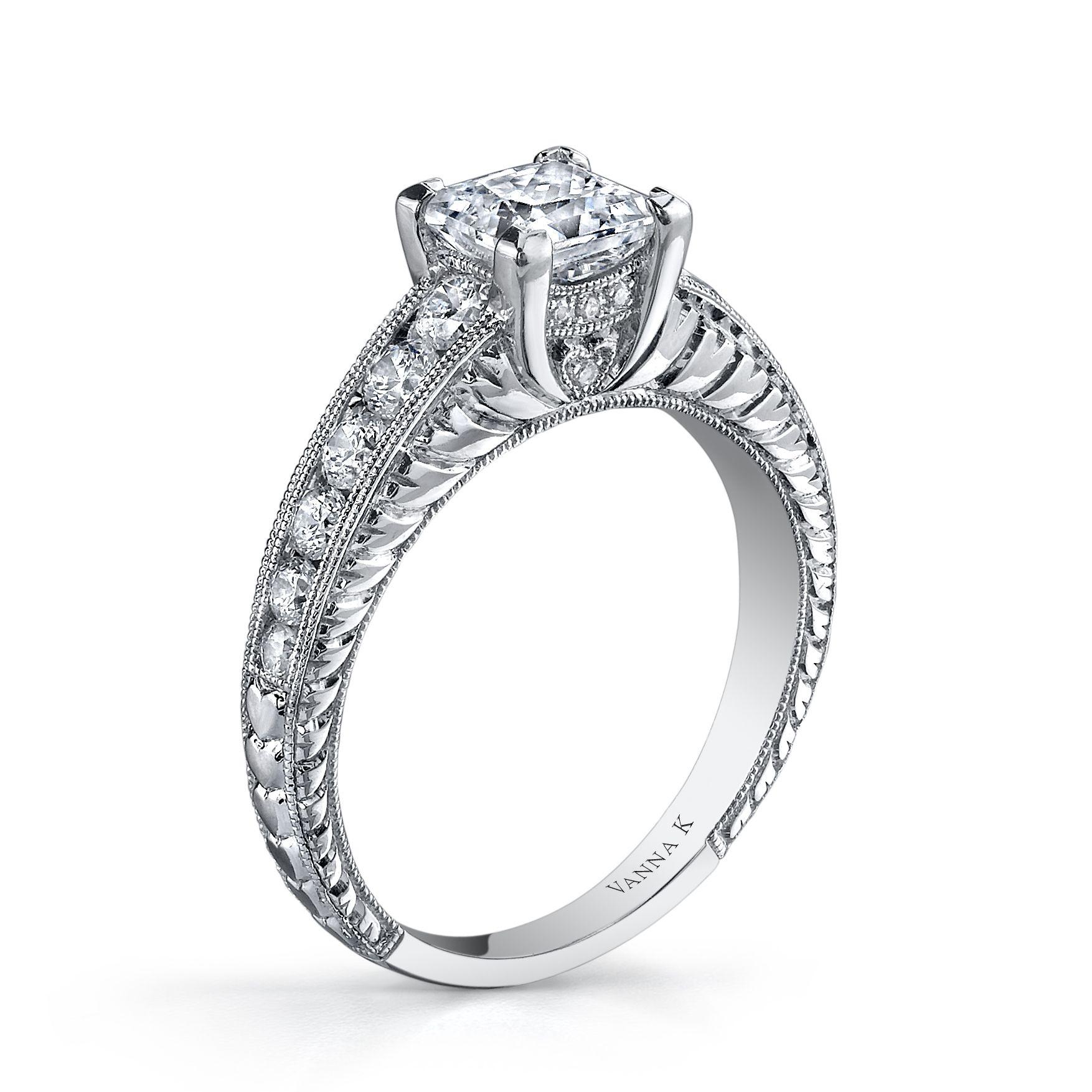 Vanna K Diamond Round 057 carats not including 1 Carat center