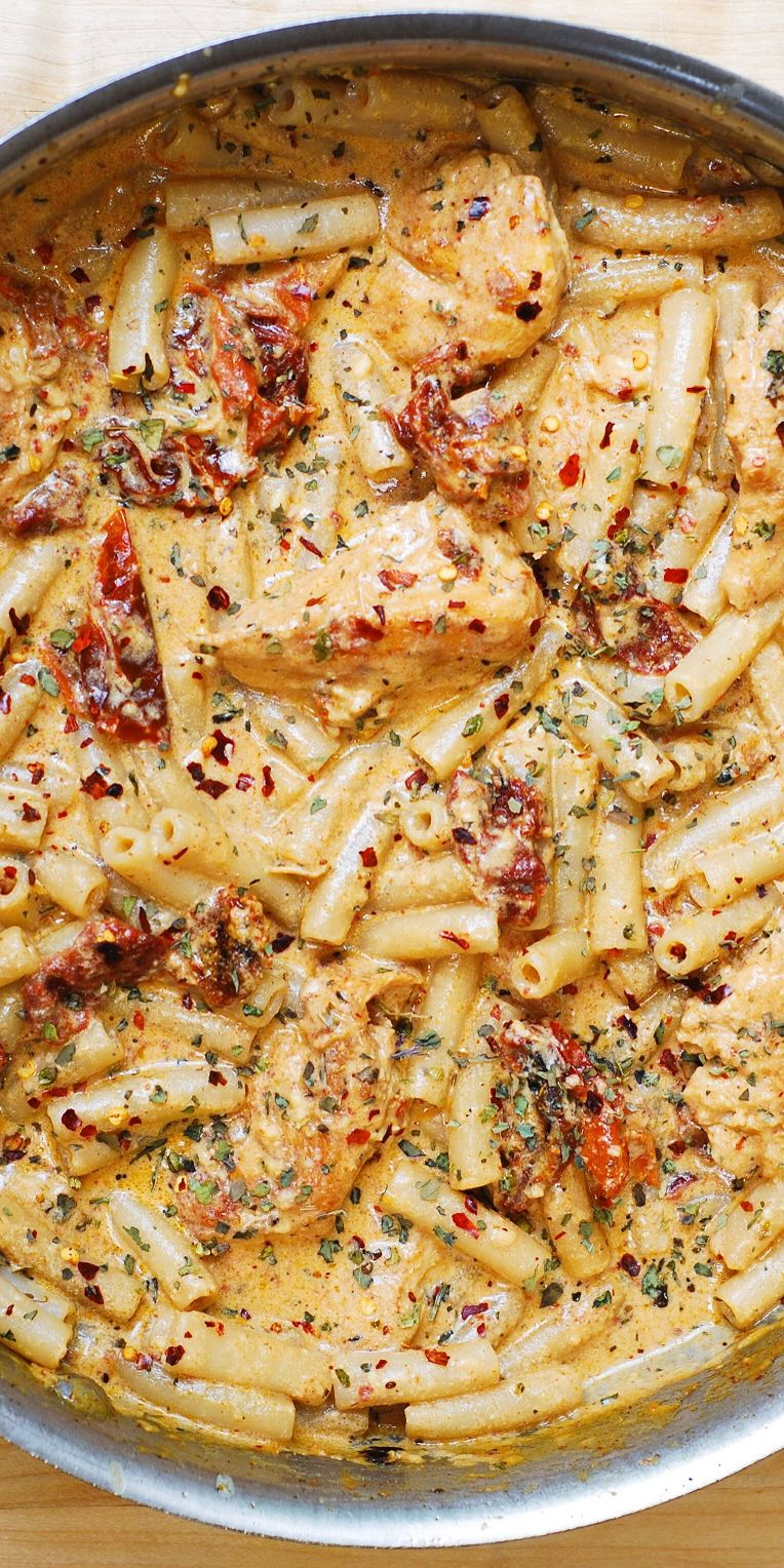 Photo of Sun-Dried Tomato Chicken Pasta