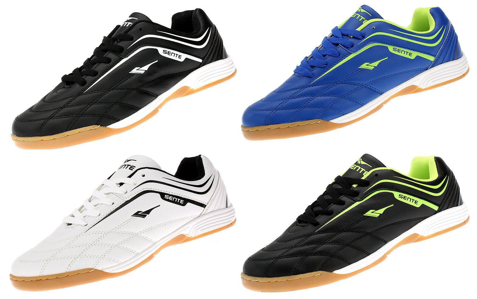 Hallenschuhe Turnschuhe Indoor Schuhe Sportschuhe Schwarz