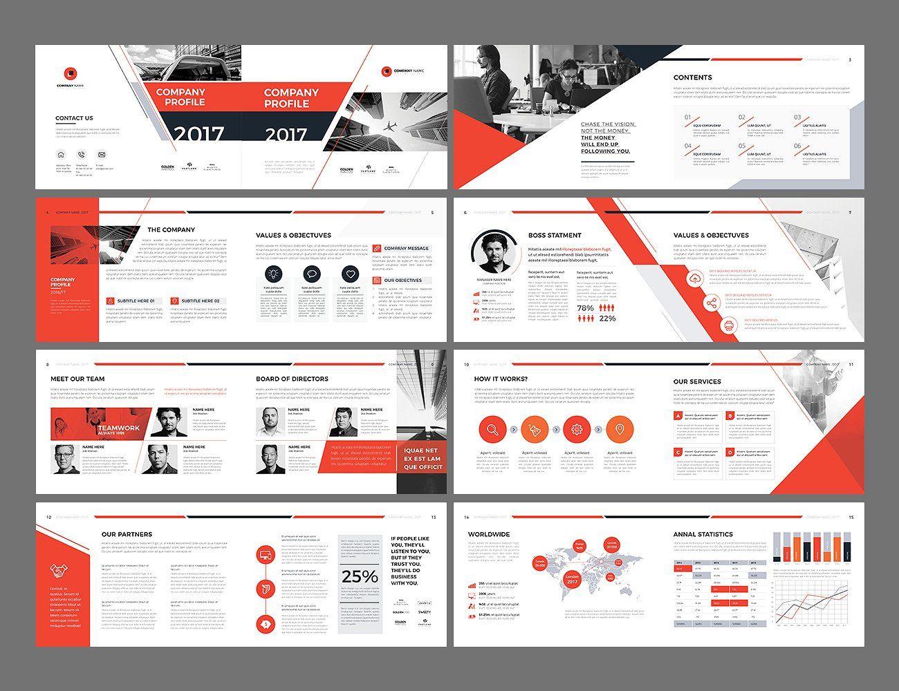 A5 Landscape Company Profile Company Profile Design