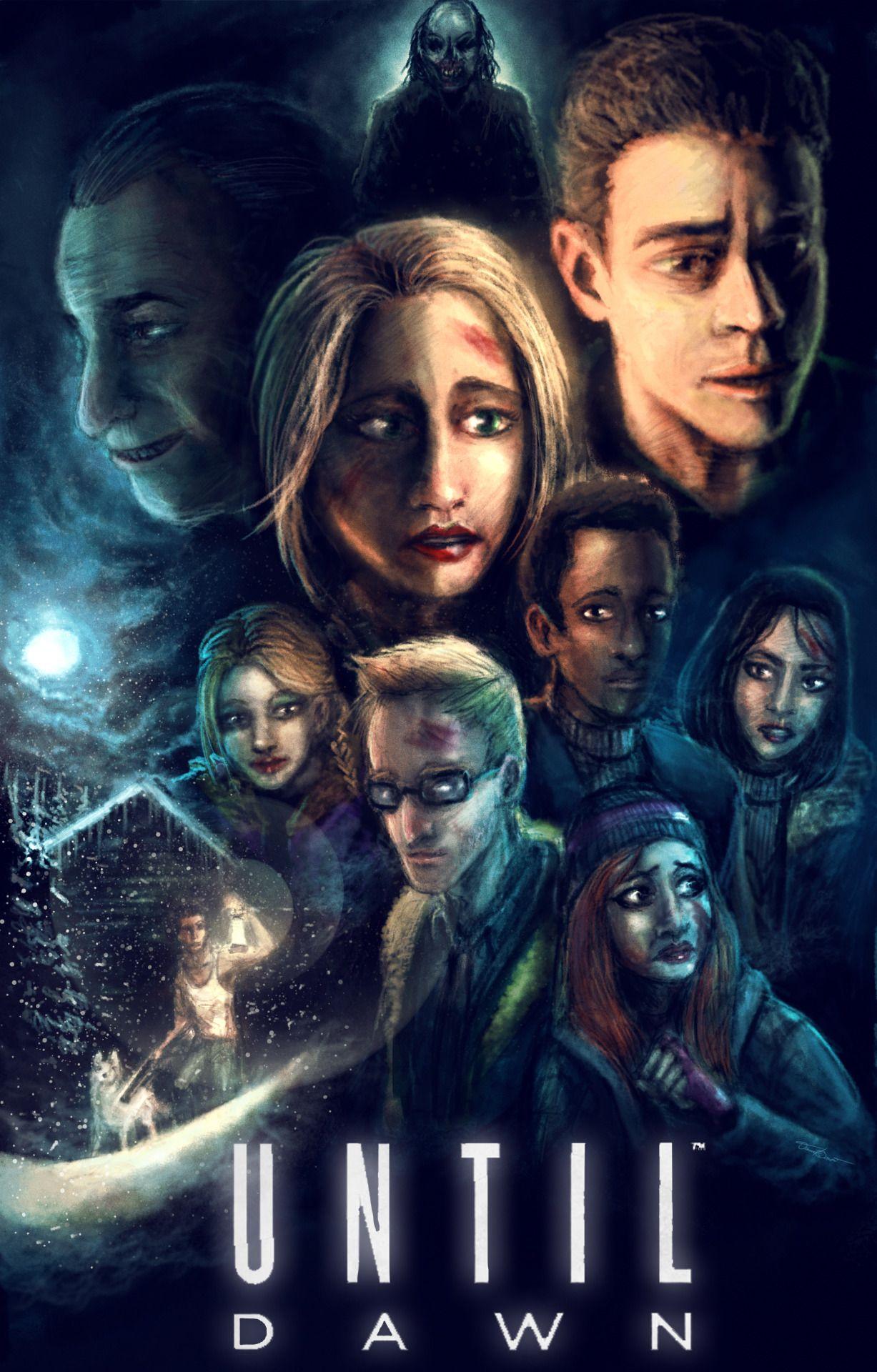 Until Dawn poster Until dawn game, Until dawn, Dawn