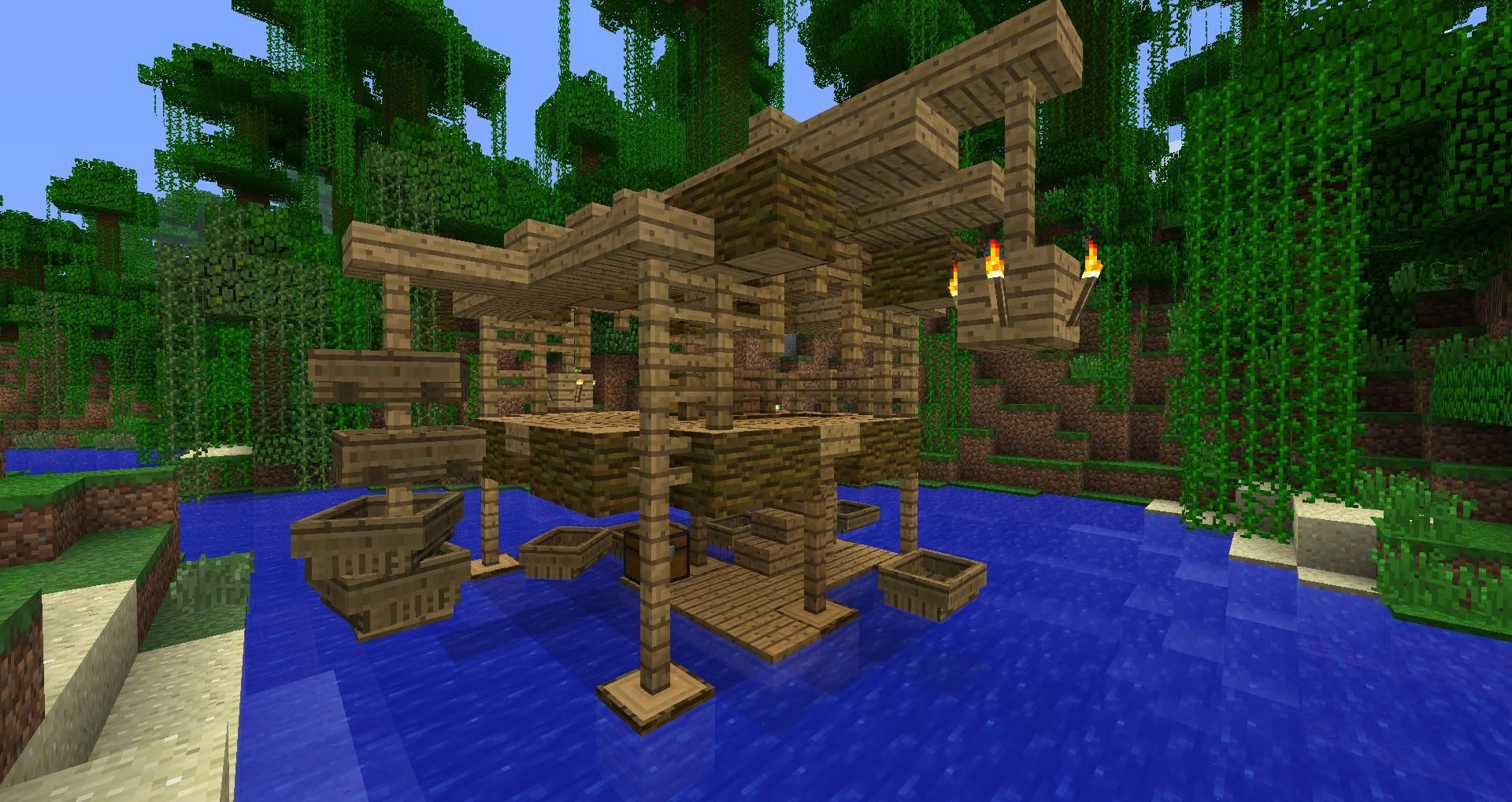 Jungle House And Boat Dock Screenshots Show Your