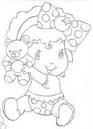 Resultado De Imagem Para Turma Da Moranguinho Baby Para Colorir