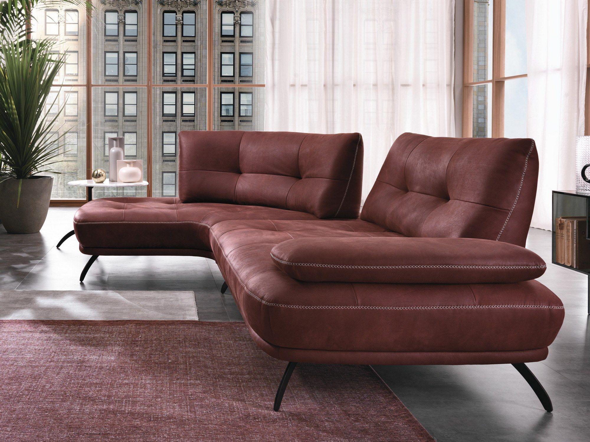 Corner sectional fabric sofa bogart by max divani 2020 솜휜