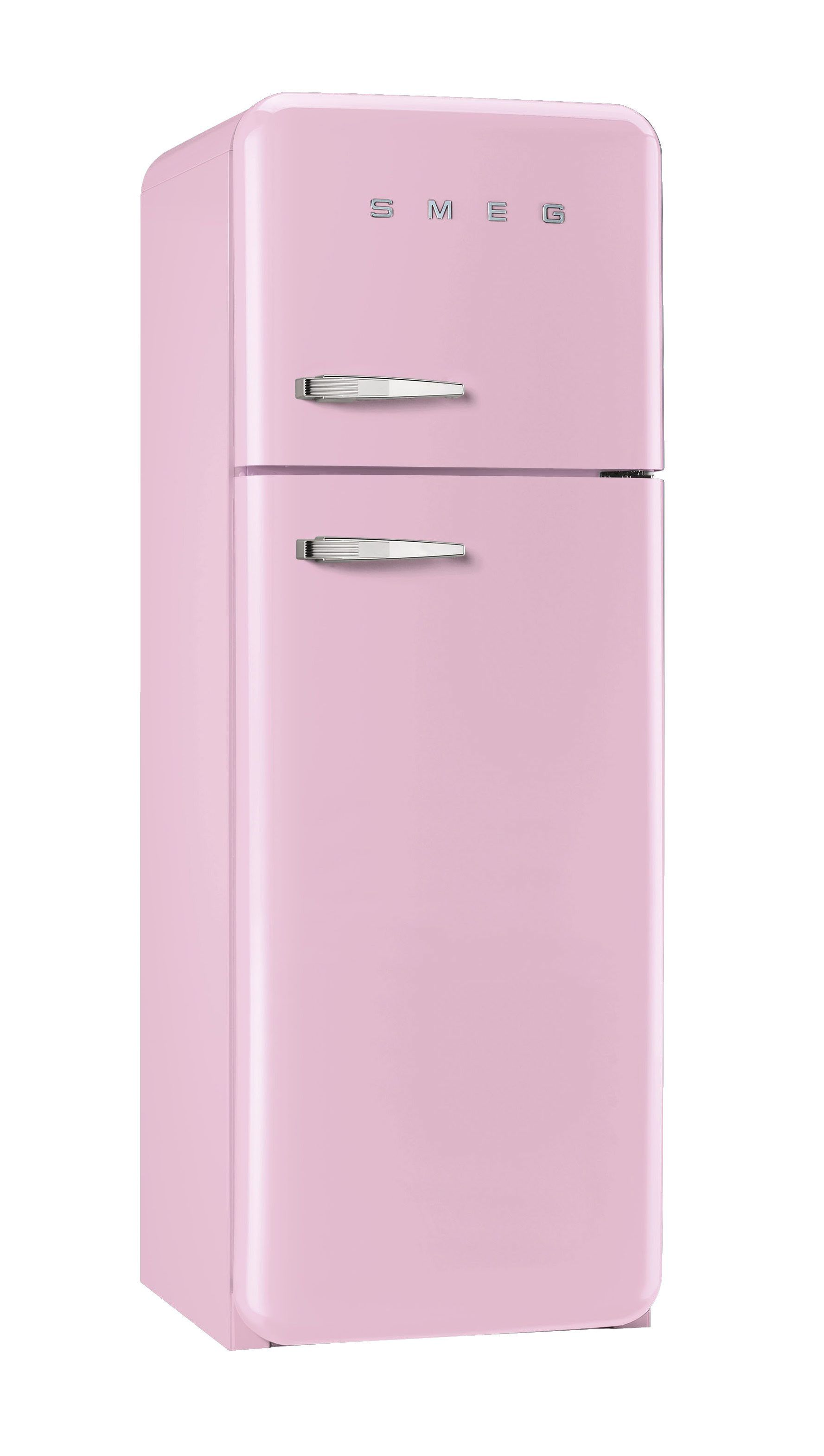 réfrigérateur 2 portes smeg fab30rro1   smeg, réfrigérateurs et rose