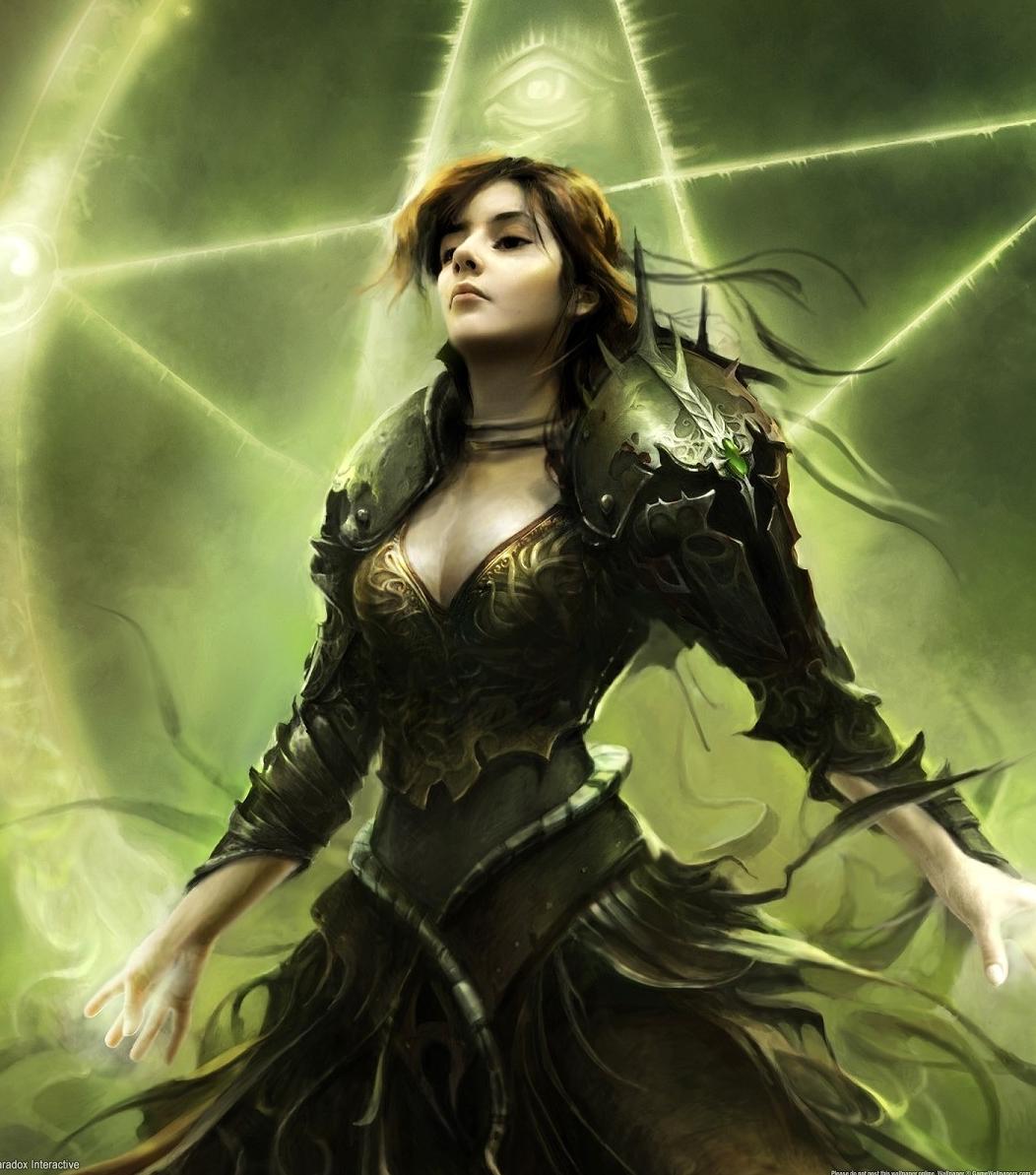 Powerful witch