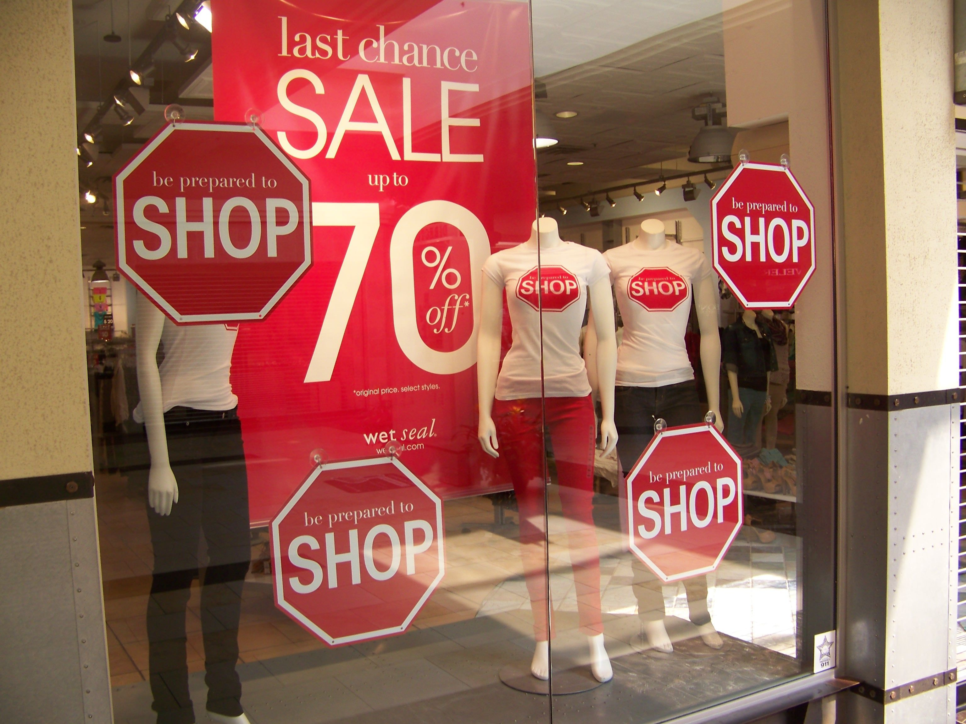 Image result for Window Display Signage