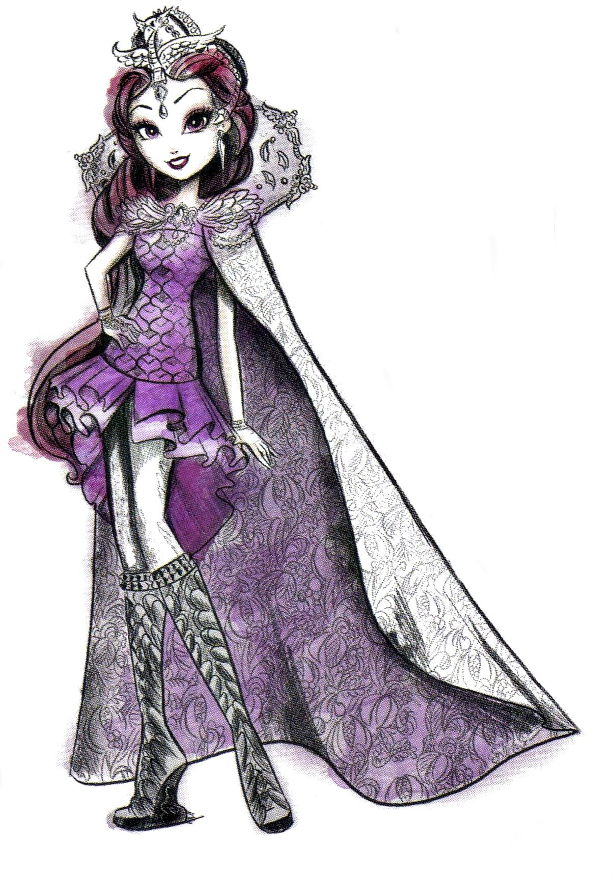 "Raven queen is my favorite ""ever after high"" character ..."