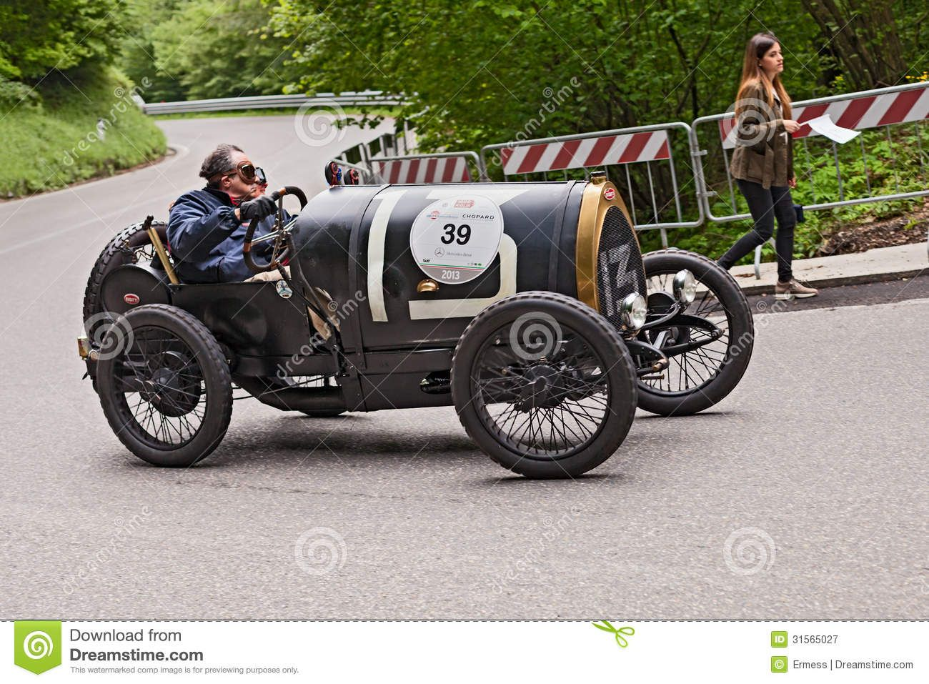Old Racing Car Bugatti T 35 A Editorial Image - Image: 31239460 ...