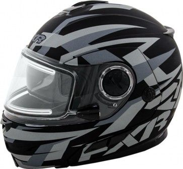 FXR Racing Fuel Modular Charcoal Mens Street Motorcycle Helmets