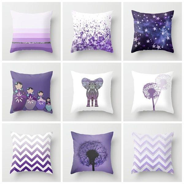 purple pillow set courtney baker baker baker labrie future home pinterest m bel. Black Bedroom Furniture Sets. Home Design Ideas