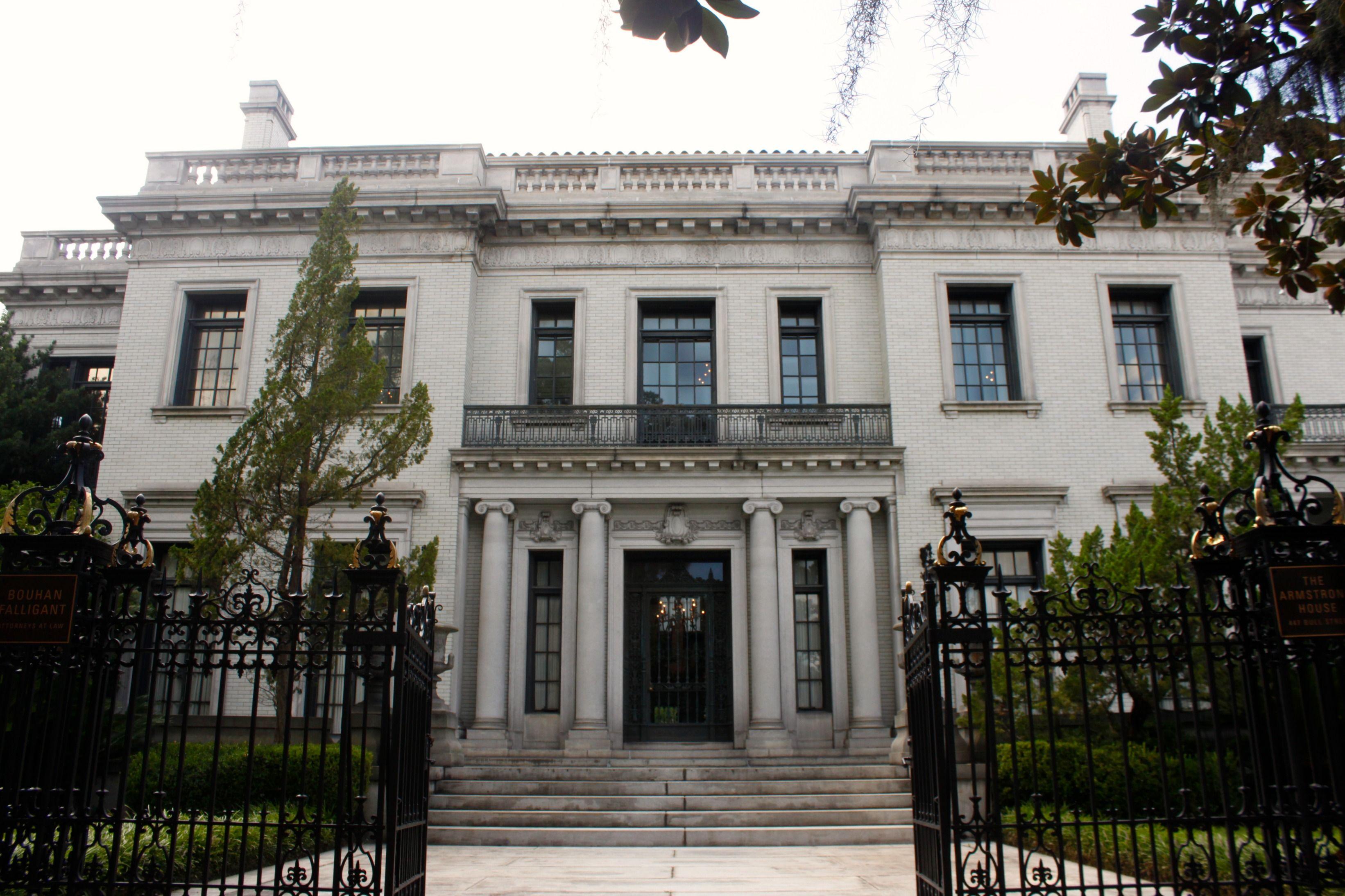 The Armstrong House Savannah | Savannah in 2019 | Savannah ...