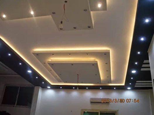 ديكورات جبس صالات الجلوس Bedroom False Ceiling Design Ceiling Design Living Room Ceiling Design