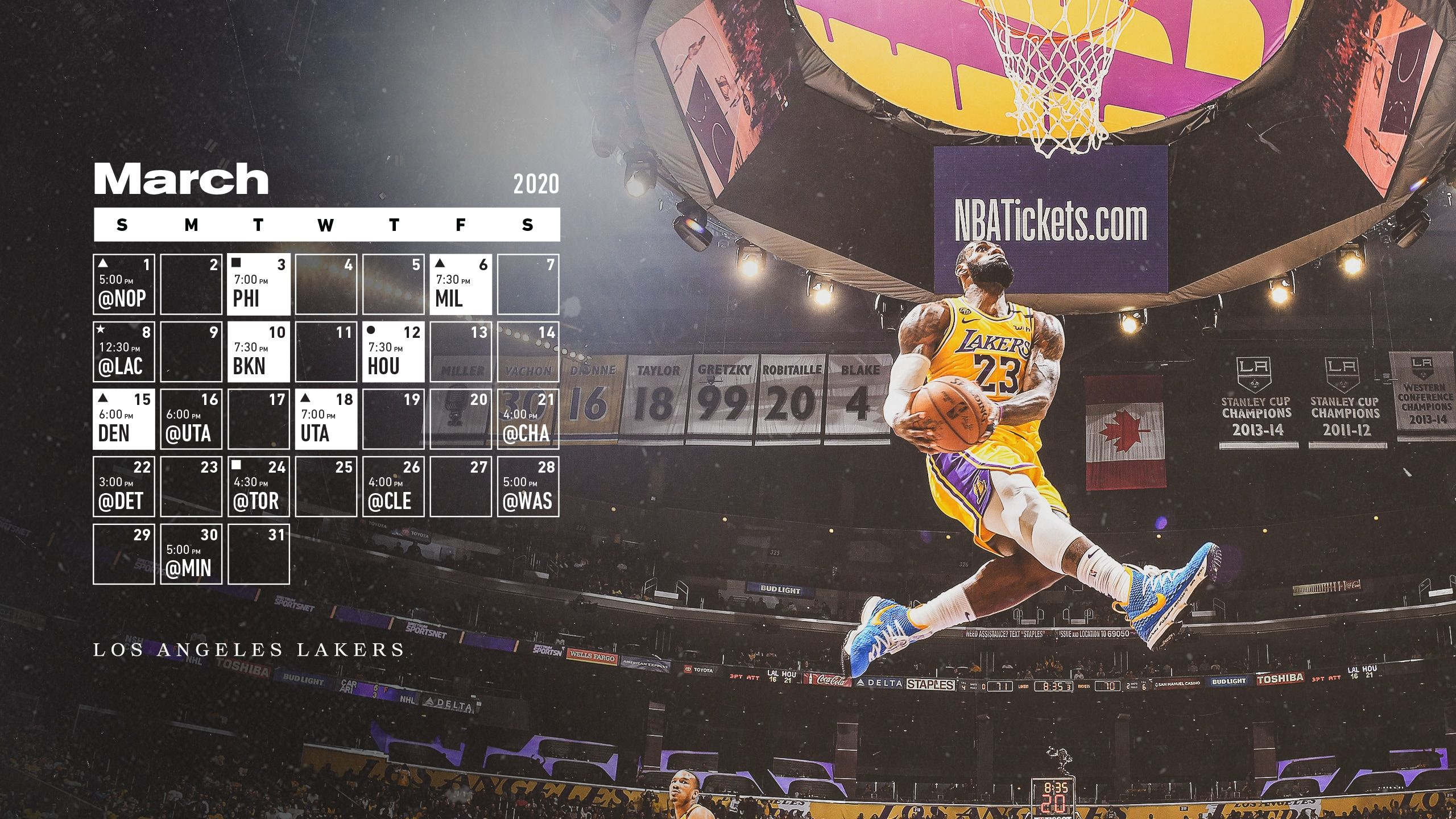 Lakers Wallpapers and Infographics in 2020 Nba
