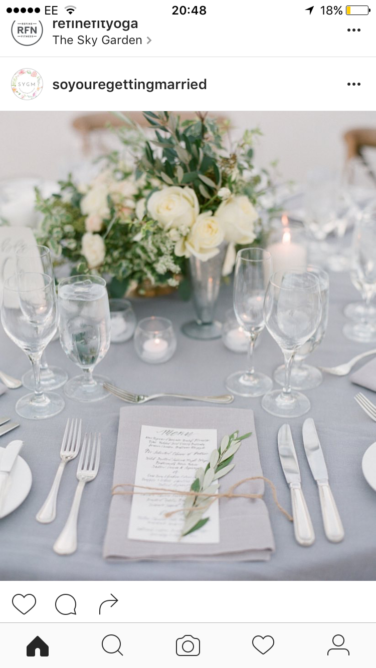 Wedding · Wedding Table SettingsPlace ...  sc 1 st  Pinterest & Pin by Emily Bennett on Wedding Flowers | Pinterest | Wedding