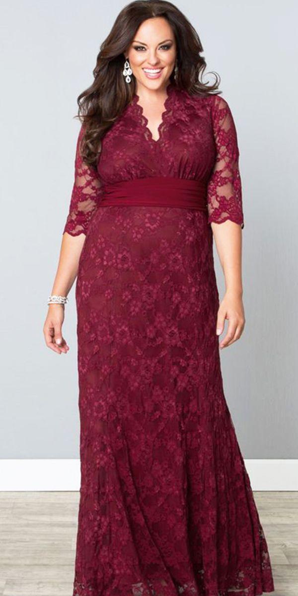 18 Stunning Plus Size Mother Of The Bride Dresses | Brautmutterkleid