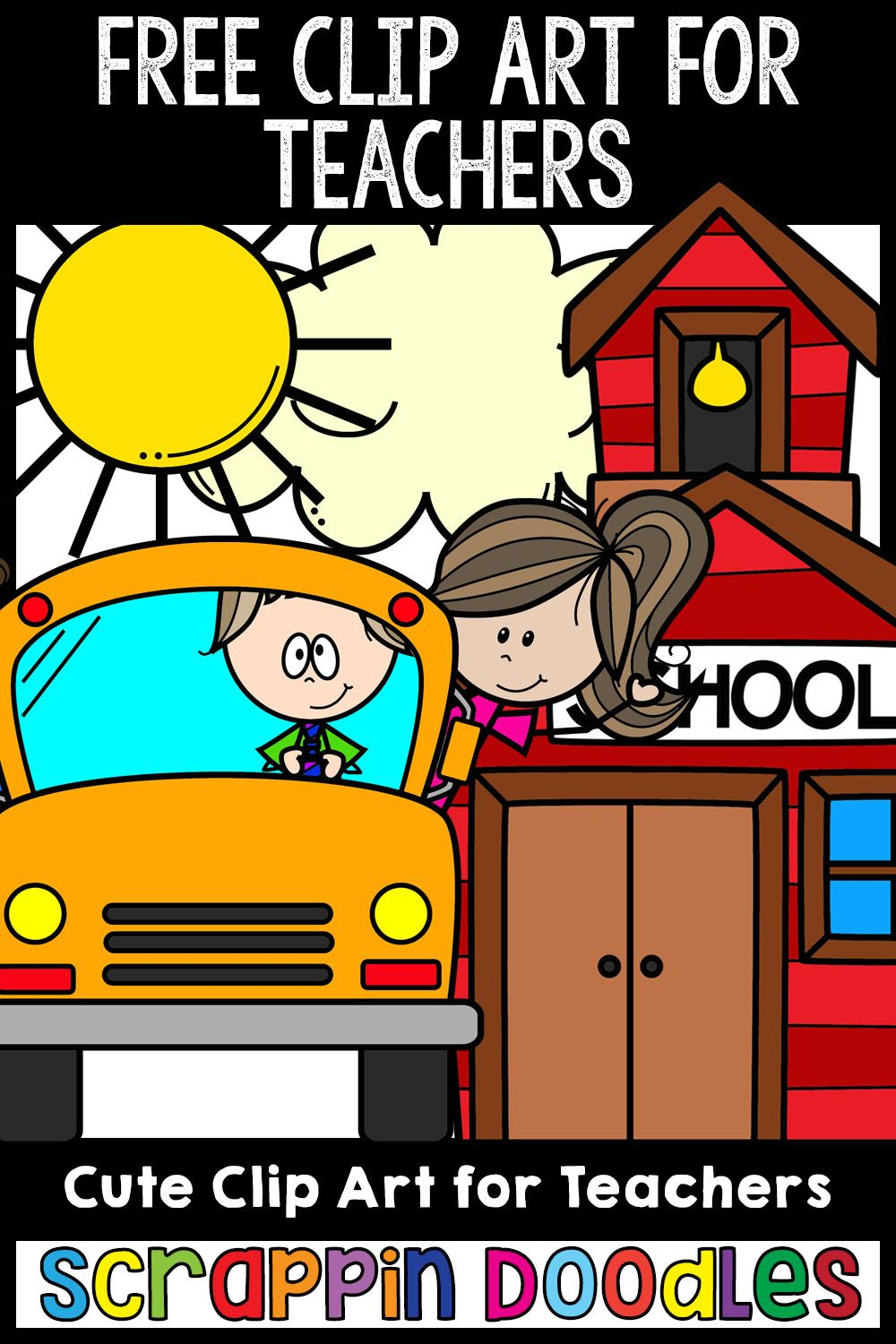 Free Clip Art For Teachers Commercial Use Clip Art Freebies Free Clip Art Free School Clipart