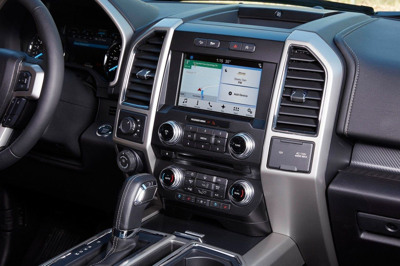 The 2018 Ford F 150 Is Available With The Sync 3 Voice Activated