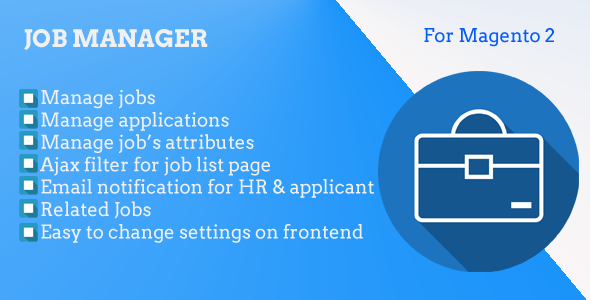 Magento 2 Job Manager Nulled | Nulled Wordpress Themes
