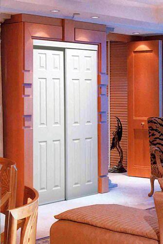 Colonial Elegance Sliding Closet Doors