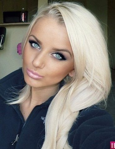 beautiful make up gorgeous hair color i m thinking of