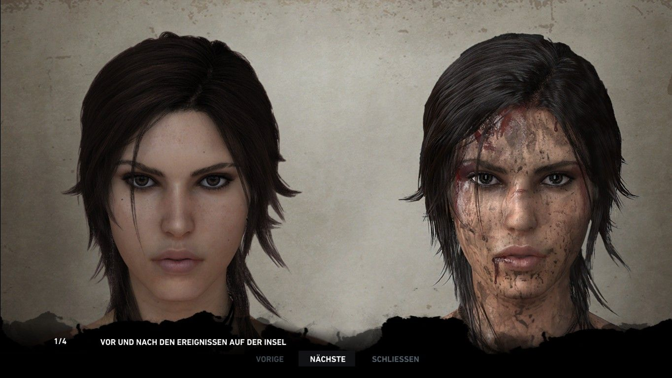 Reference Picture For Makeup Dirt And Blood Placement
