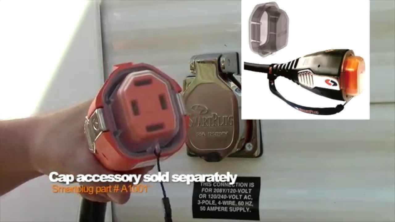 RVtravel.com's Chris Dougherty reviews a product called the SmartPlug, which makes hooking up a RV power cord much easier, and more secure at the campsite an...
