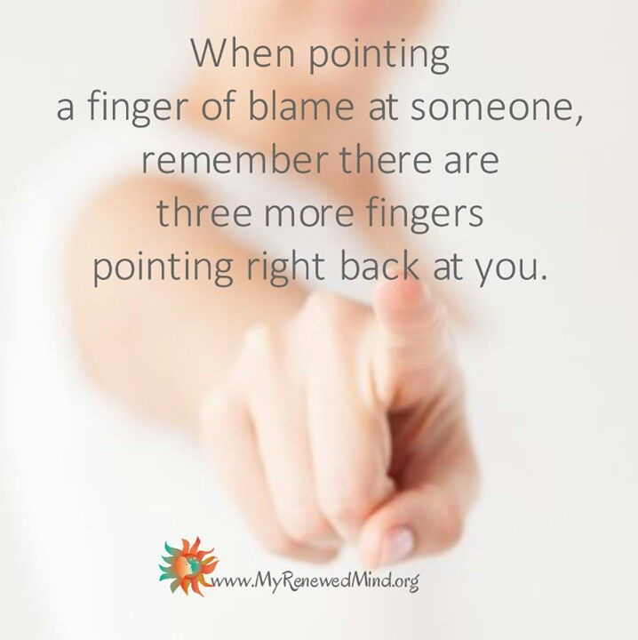 Finger someone to The finger