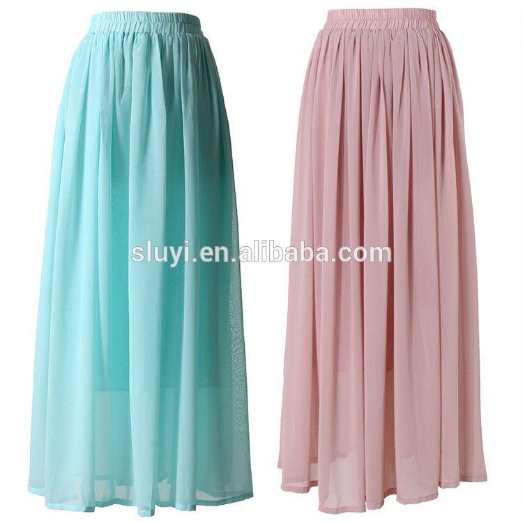 f58155953 Modelos de faldas largas   ropa y zapatos   Faldas largas, Faldas y ...