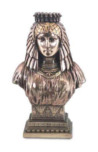 CLEOPATRE buste STATUE neuve resine Laitonnée figure EGYPTIEN MYTHIQUE antiquité | Buste, Statue ...