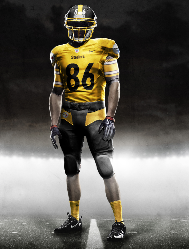 848e4f7e573 new nike steelers uniforms! Too bad 86 won't be around to wear it! (I miss  Hines sooo much!)