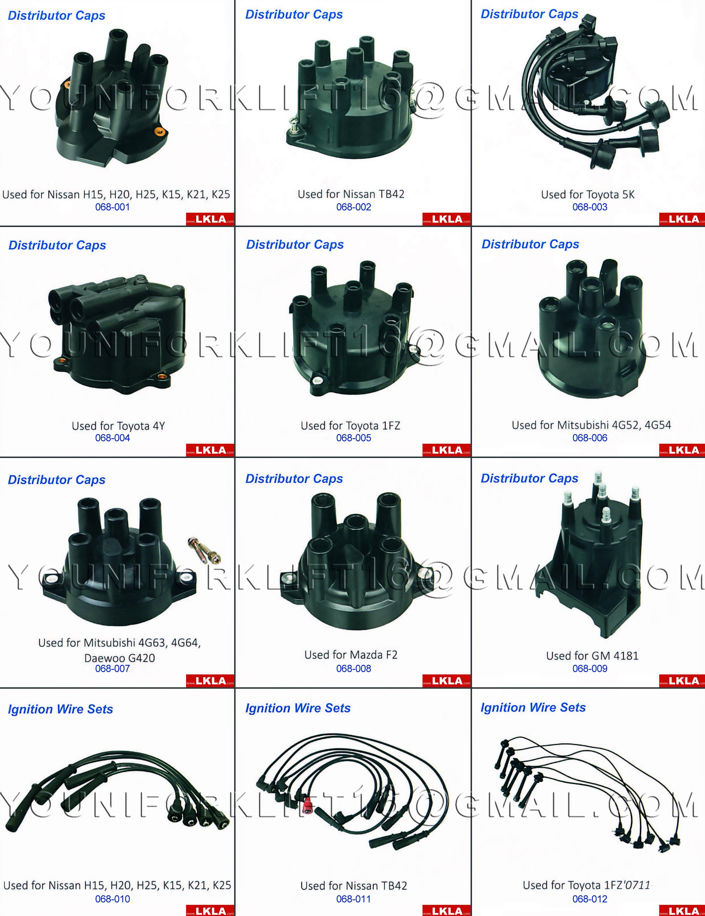 Forklift Engine Part: Distributor Components | forklift spare parts-1